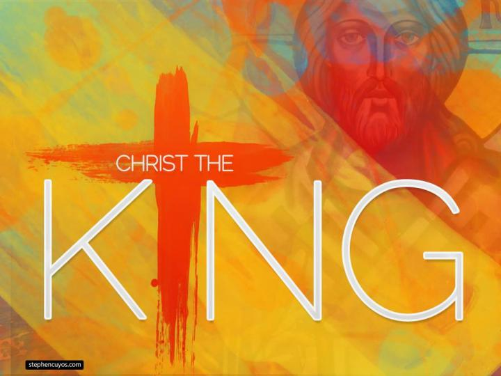 reflection christ the king