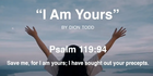 RHM Music:  I Am Yours