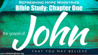 Bible Study, John, Chapter One