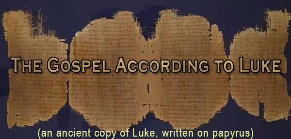Bible Study on the Gospel of Luke